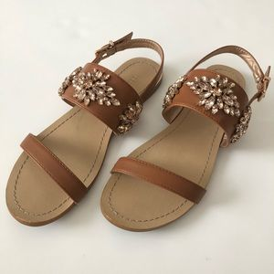 BCBGeneration Brinah Jeweled Sandals